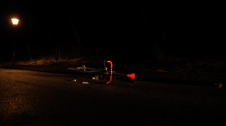 Kosta Tonev,  Still from Death of a Cyclist, 2013, video, 3 min